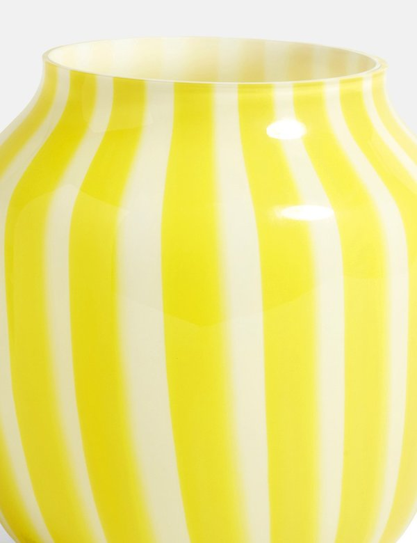 Hay Juice Wide Vase - Yellow