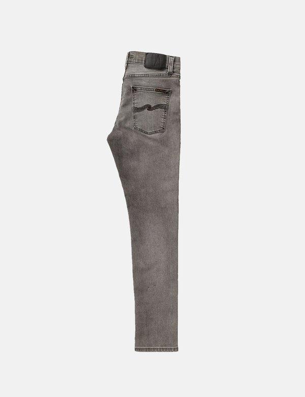 Nudie Lean Dean Slim Tapered Jeans - Vintage Grey