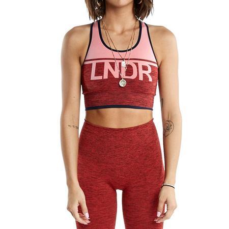 LNDR A-Team Sports Bra - Coral Marl