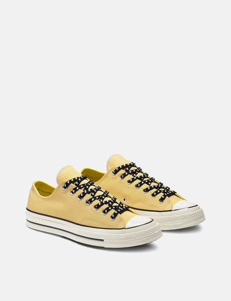 Converse 70's Chuck Low Canvas Sneakers - Butter Yellow/Fresh Yellow