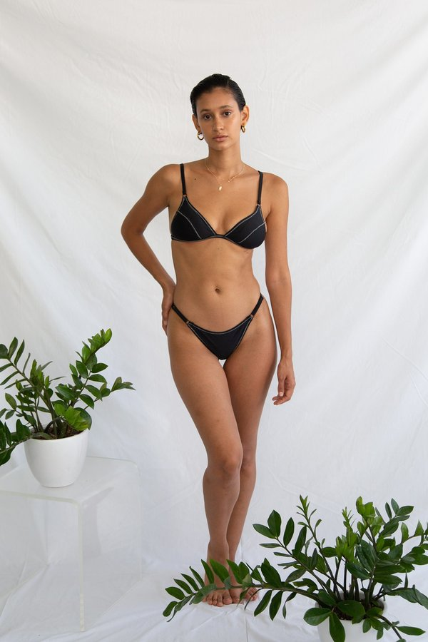 Galamaar Slim Line Brief - Noir Zig