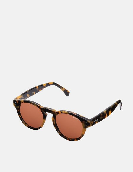 Komono Clement Acetate Sunglasses - Tortoise Demi