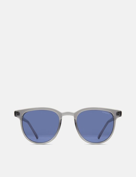 Komono Francis Sunglasses - Zircon Grey/Blue