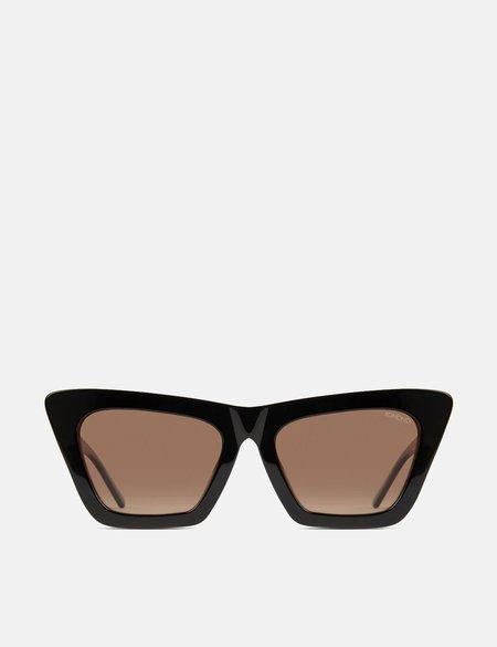 Komono Jessie Sunglasses - Black/Tortoise