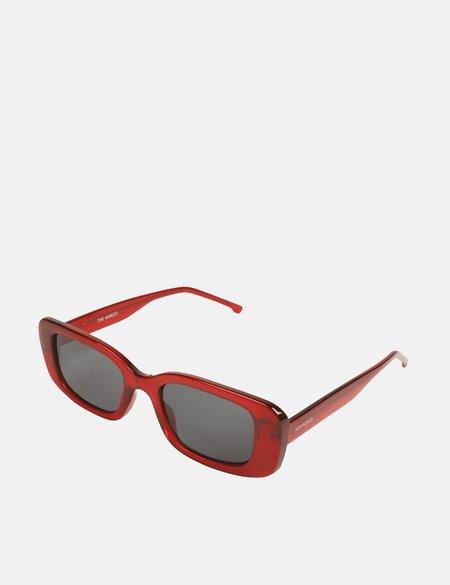 Komono Marco Sunglasses - Ruby Red