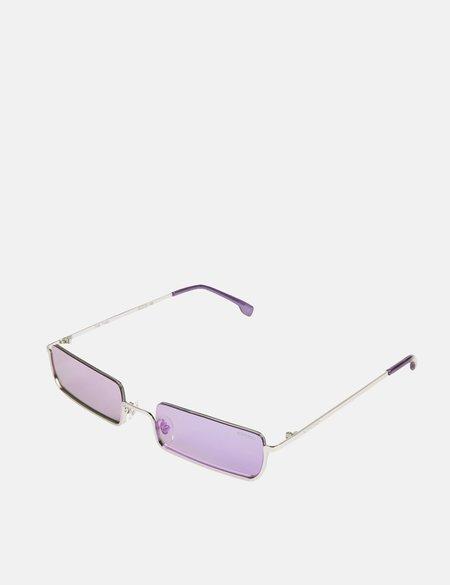 Komono Tyrel Sunglasses - Silver/Amethyst