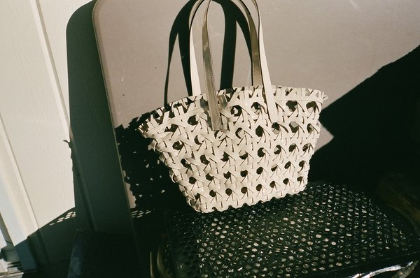 R'osi Woven Purse - Ivory