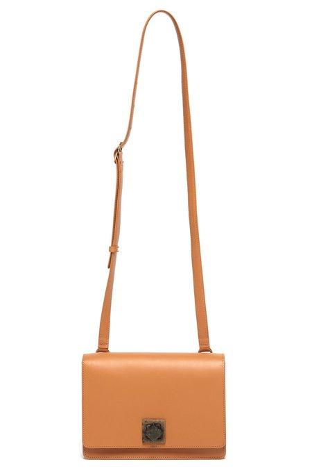 The Stowe Evelyn Lock bag - Tan