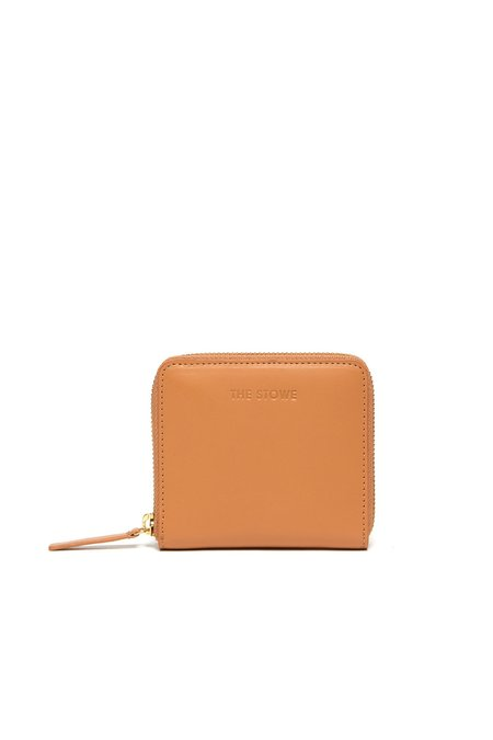 The Stowe Square Wallet - Tan