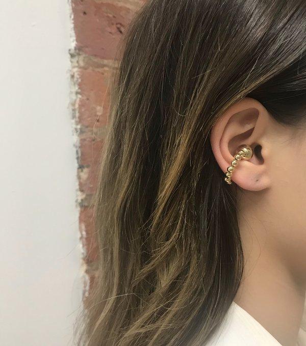 Joomi Lim Sphere Ear Cuff - Gold