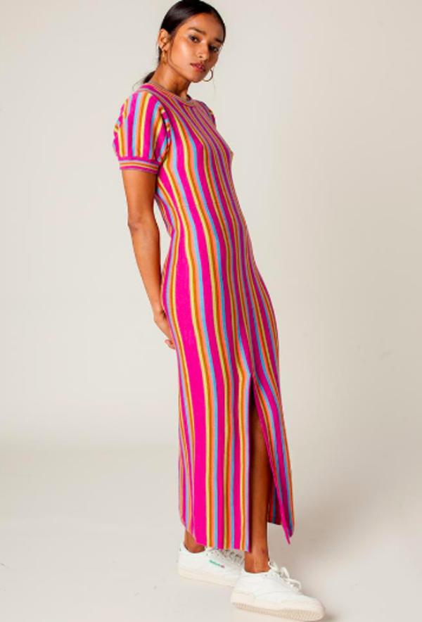 Rachel Antonoff Budde Maxi Dress - Purple Multi