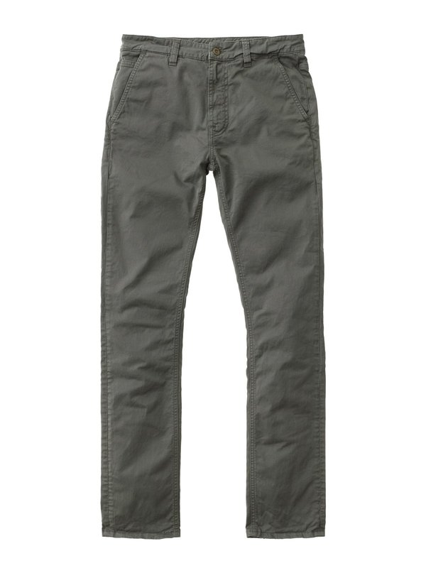 Nudie Jeans Slim Adam Chino - Khaki