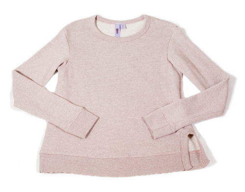 WILT BLUSH STRIPE SWEATSHIRT