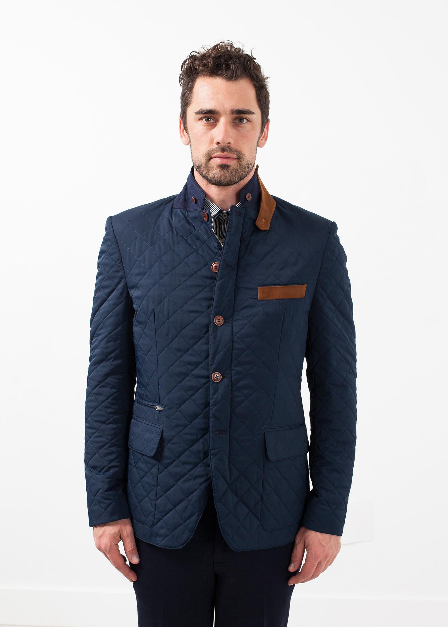 men 39 s circle of gentlemen milton jacket navy garmentory. Black Bedroom Furniture Sets. Home Design Ideas