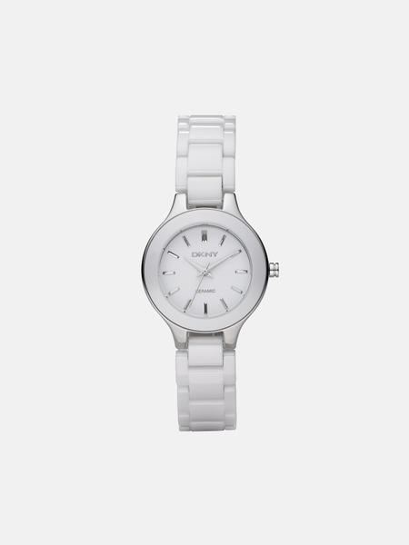 DKNY Ny4886 - Stainless Steel/White