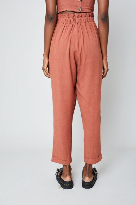 native youth THE KNOWLES PANT - peach