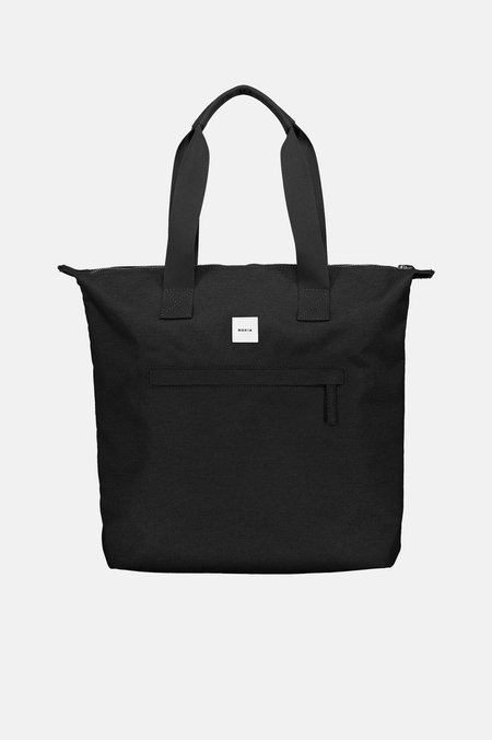 Makia ZIP TOTE BAG - BLACK