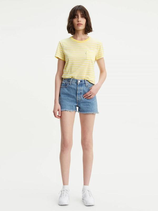 fbdb704f Levi's 501 High Rise Shorts - Flat Broke | Garmentory