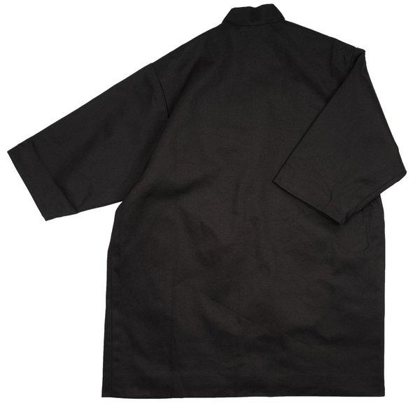 KIDS Meme Ace Longline Jacket - Black Stripes