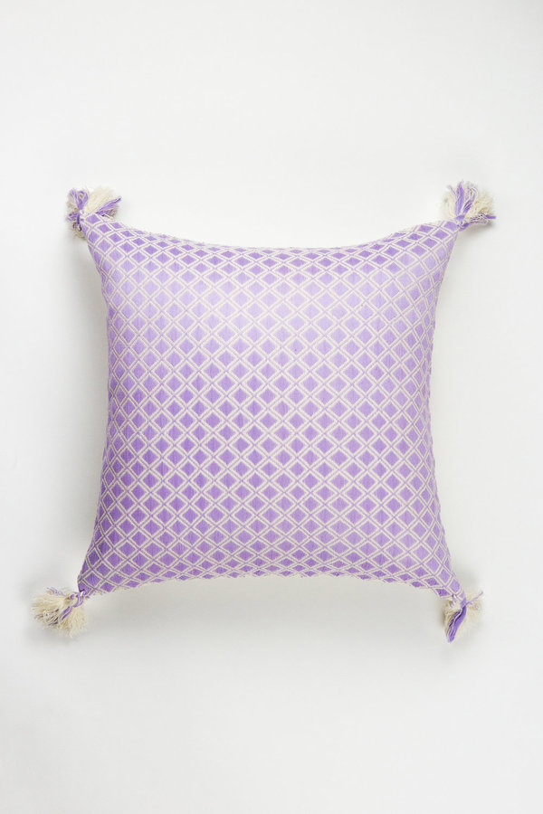 Archive New York Comalapa Square Pillow - Lilac