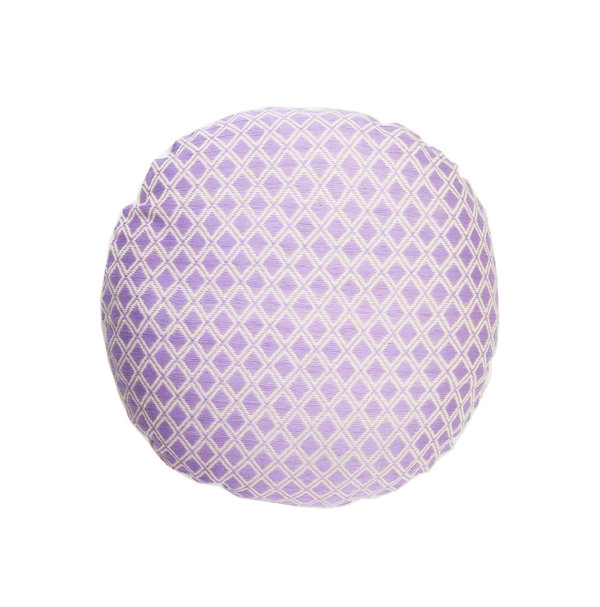Archive New York Comalapa Circle Pillow - Lilac
