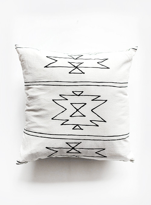 Sunday Supply Co. Organic Cotton Pillow New Mexico