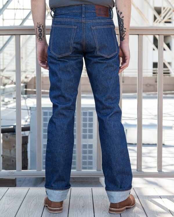 Left Field NYC Greaser Jeans - Cone White Oak Denim