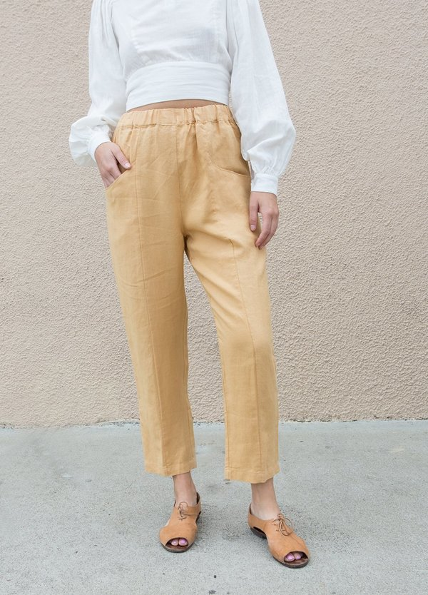 Mate the Label Willow Pant - Ochre