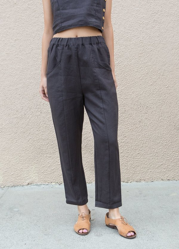 Mate the Label Willow Pants - Vintage Black