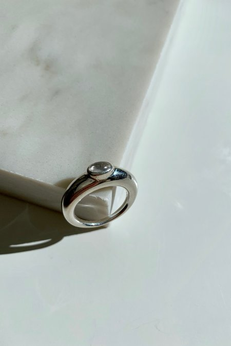 J. Hannah Glace Ring I - Silver