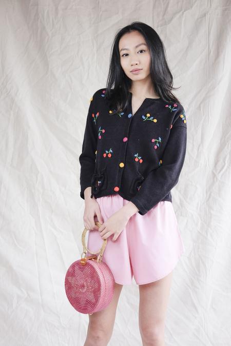 Lisa Says Gah Capri Shorts - Pink