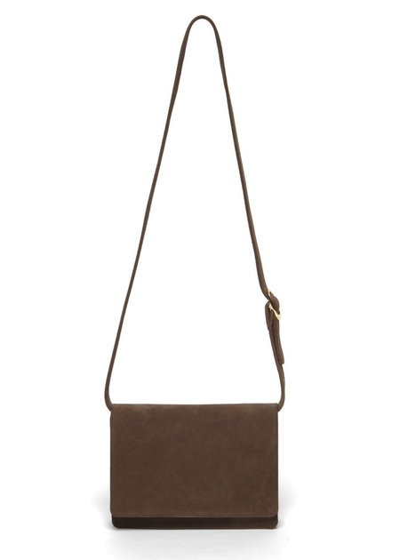The Stowe Evelyn - Walnut Suede