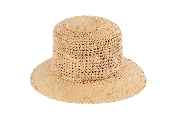 40f82ceb4a0 Clyde Toni Crocheted Straw Hat - Natural