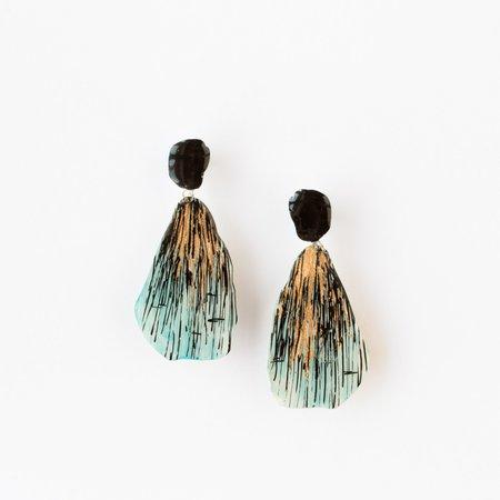 Johanne Ratté Large Drop Earrings