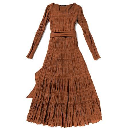 Curator Larkspur Dress - Copper