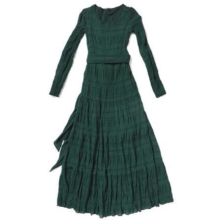 Curator Larkspur Dress - Evergreen