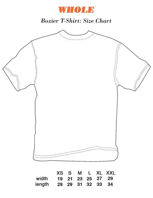 Unisex WHOLE DOUBLE PIERCING T-SHIRT - WHITE