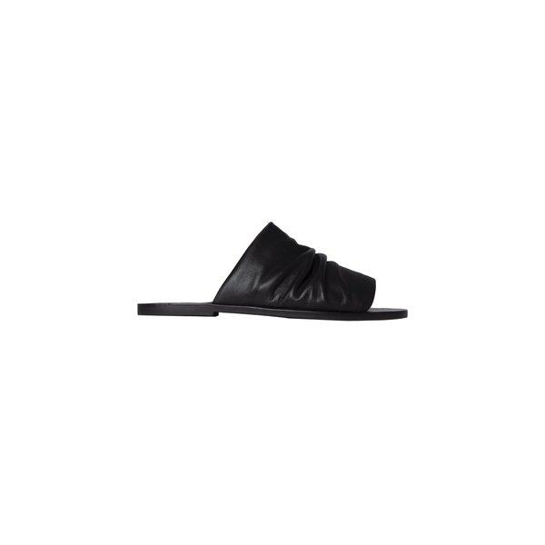 CARTEL Abril Slide Sandal - Black
