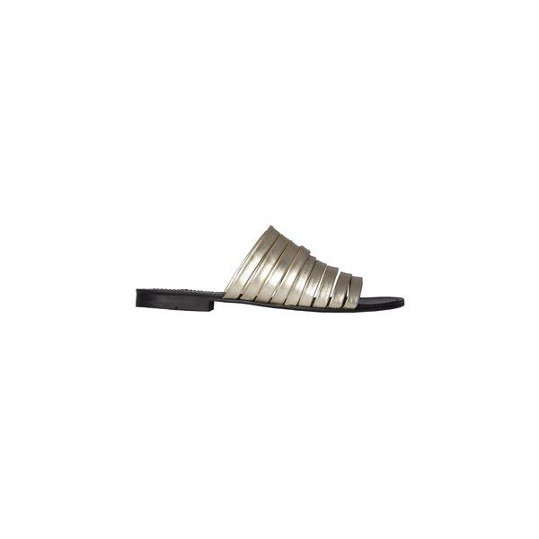 CARTEL Daniela Multi-Strap Sandal - Gold