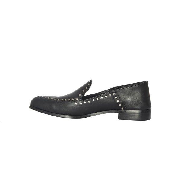 CARTEL Lopez Loafer - black + rivets