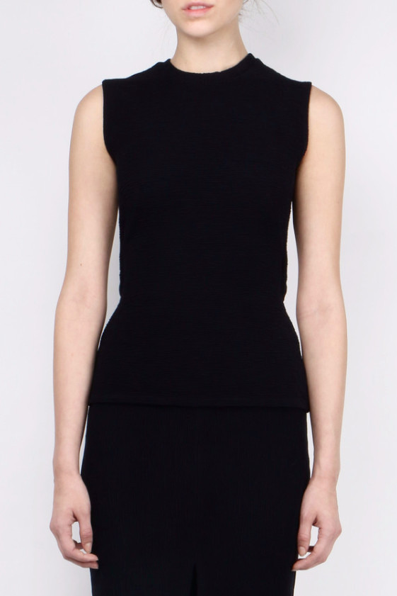 Area Oceanie Sleeveless Cut-Out Top