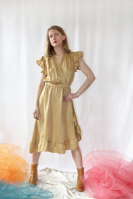 Colorant Voyager Dress - Goldenrod