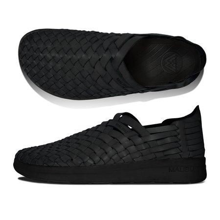 Unisex Malibu Arroyo PU GMF EVA Rubber Shoes - Black/Black