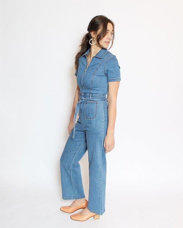 Rachel Antonoff Sal Jumpsuit - Blue Jean