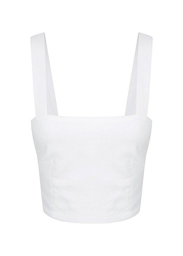 S/W/F SWF Glaze Top - White
