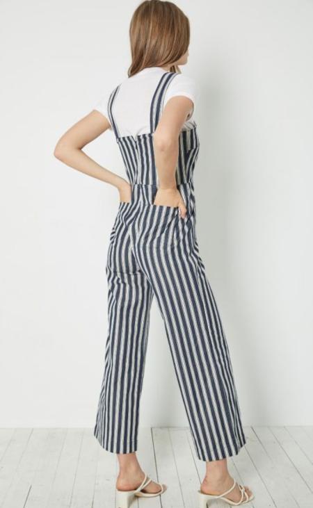 Rollas Sailor Jumpsuit - Salty Stripe