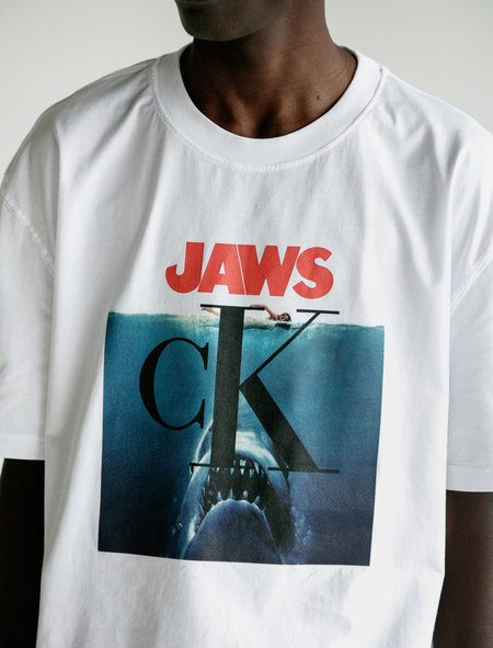 Calvin Klein 205W39NYC Jaws T-Shirt - White