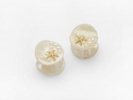 Valet Pair Ariel Clip - Cream