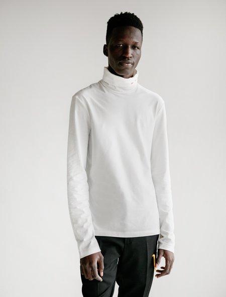Calvin Klein 205 Turtleneck - White/Red Font
