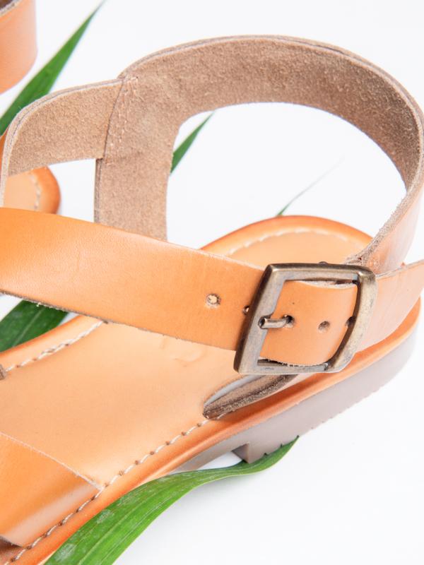 BLNC Cross Sandal - Tan